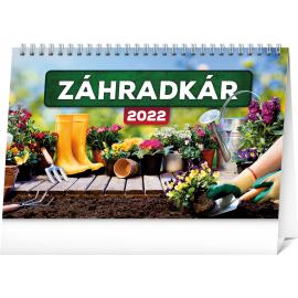 Stolový kalendár Záhradkár 2022, 23,1 × 14,5 cm