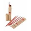 Teribear, sada 6 ceruziek s gumou