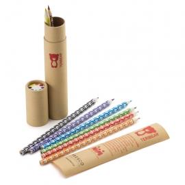 Teribear, sada 8 pasteliek v papierovej tube