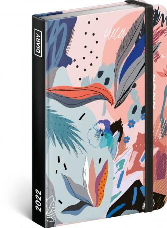 Týždenný diár Abstrakt 2022, 11 × 16 cm
