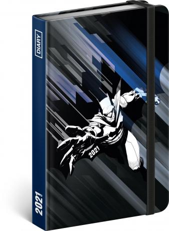 Týždenný diár Batman 2021, 11 × 16 cm
