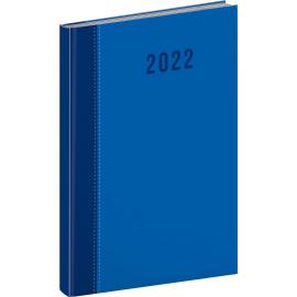 Týždenný diár Cambio Classic 2022, modrý, 15 × 21 cm