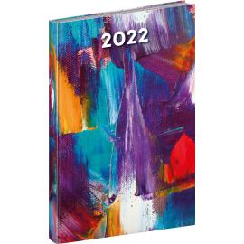 Týždenný diár Cambio Fun 2022, Maľba, 15 × 21 cm