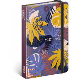 Týždenný diár Listy 2022, 11 × 16 cm
