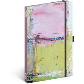 Týždenný diár Maľba 2021, 13 × 21 cm