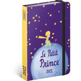 Týždenný diár Malý princ – Planéta 2022, 11 × 16 cm
