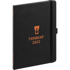 Týždenný diár Teribear 2022, 15 × 21 cm