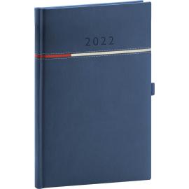 Týždenný diár Tomy modro–červený, 2022 15 × 21 cm