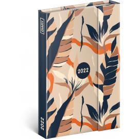 Týždenný magnetický diár Listy 2022, 11 × 16 cm