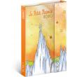 Týždenný magnetický diár Malý princ – Mountain 2020, 11 × 16 cm