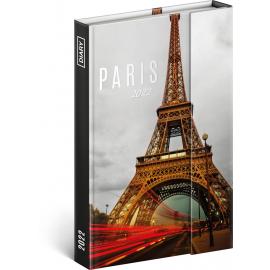 Týdenní magnetický diář Paříž 2022, 11 × 16 cm