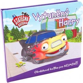 Vytúněný Harry - leporelo kniha Statečná autíčka