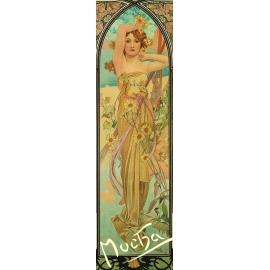 Záložka Alfons Mucha – Nádhera dňa